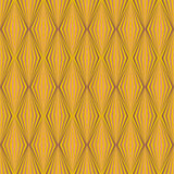 Art deco stylized diamond wallpaper pattern Royalty Free Stock Photo