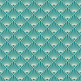 Art deco sunburst pattern. Royalty Free Stock Photo