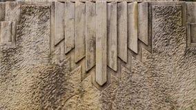 Art Deco szczegół od Hiszpania Obraz Stock
