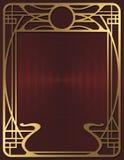 Art Deco tło Zdjęcia Royalty Free