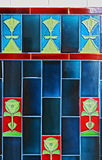 art deco tiles Royalty Free Stock Photos