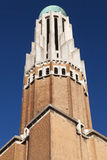 Art Deco Tower of the Sacred Heart Basilica Stock Photos