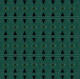 Art Deco Triangle Pattern Imagen de archivo libre de regalías