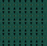Art Deco Triangle Pattern Royalty Free Stock Image