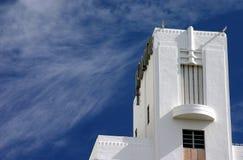 Art- Deco und -himmel Lizenzfreie Stockfotografie