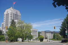 Art Deco Vancouver City Hall Royalty Free Stock Image
