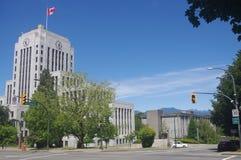 Art Deco Vancouver urząd miasta Obraz Royalty Free