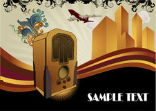 Art deco vector composition Royalty Free Stock Image