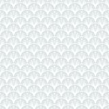 Art Deco Vector Geometric Pattern In Silver White. Royalty Free Stock Photo