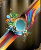 Art deco vector illustration Stock Image