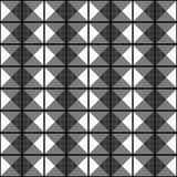 Art Deco Vector Pattern blanco y negro inconsútil Foto de archivo