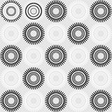 Art Deco Vector Pattern sans couture abstrait Photos stock