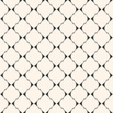 Art deco vector seamless pattern. Texture with thin curved lines. Art deco vector seamless pattern. Elegant geometric texture with thin curved lines, mesh Royalty Free Stock Image