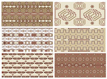 Art deco vector textures royalty free illustration