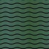 Art Deco Wave Pattern Fotografía de archivo