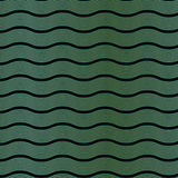 Art Deco Wave Pattern Stock Photography