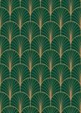 Art Deco wektoru geometryczny bezszwowy wzór Fotografia Royalty Free