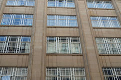 Art Deco Windows Royalty Free Stock Photo
