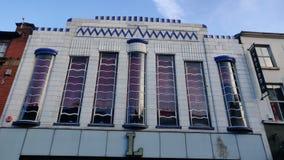 Art DecoArchitektur lizenzfreies stockbild