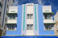 Art- DecoArchitektur Stockfoto