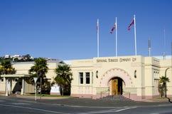 Art- DecoGebäude in der Napier-Stadt Lizenzfreies Stockbild