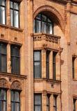 Art- DecoGebäude in Manchester Großbritannien stockbild