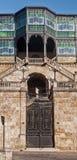 Art- DecoMuseum in Salamanca lizenzfreies stockbild