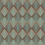 Art- DecoMuster lizenzfreie abbildung
