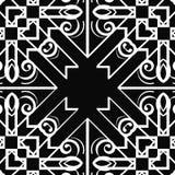 Art- Deconahtloses Muster stock abbildung