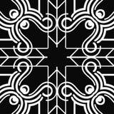 Art- Deconahtloses Muster vektor abbildung