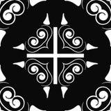 Art- Deconahtloses Muster lizenzfreie abbildung