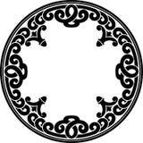 Art Decor Round Pattern Foto de Stock Royalty Free