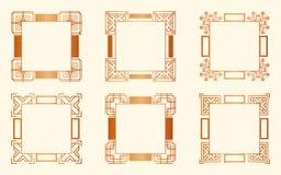 Art- DecoRahmen lizenzfreie abbildung