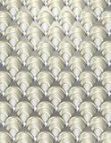 Art- DecoShell Hintergrund Stockfoto