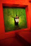 Art DecoTreppelampe lizenzfreie stockfotografie