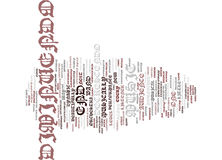 The Art Of The Decrescendo Text Background Word Cloud Concept Royalty Free Stock Image