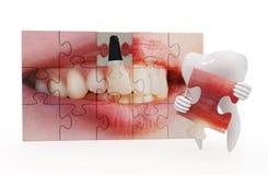 Art dentaire drôle Photographie stock