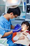 Art dentaire pédiatrique, art dentaire de prévention, concept d'hygiène buccale photos libres de droits