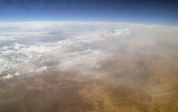 Art der Wüste von der Luft, Stockfotos