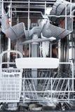 Art des Innenraums der Spülmaschine Spülmaschinenteile Lizenzfreies Stockbild