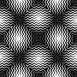 Art Design de Op. Sys., Zig Zag rayó el modelo inconsútil del vector Imágenes de archivo libres de regalías