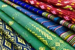 Art design fabric. In Thailand Stock Images