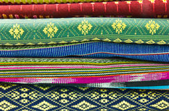 Art design fabric. In Thailand Royalty Free Stock Photo