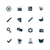 Art, design icons set Royalty Free Stock Photo