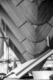 Art Design That Look Like interior único la espina dorsal de un dinosaurio dentro de un edificio en Vancouver Canadá imagenes de archivo