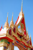 Art design object of temple in Hatyai Stock Images