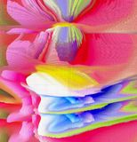 Abstract color design. Abstract graphics stock image