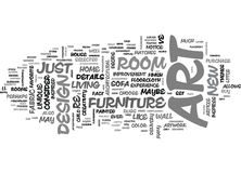 Art And Design Word Cloud illustration de vecteur