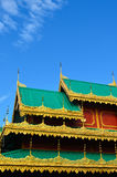 Art detail, Wat jongklang-jongkha, Maehongson Stock Image
