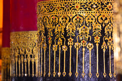 Art detail, Wat Prathat Changkam, Nan Province Thailand Royalty Free Stock Images
